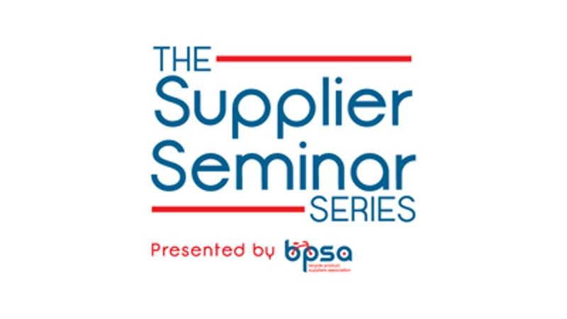 Supplier Seminar Series at Interbike - logo