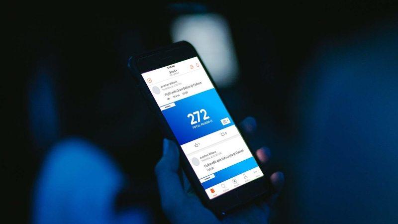 Strava app via mobile phone