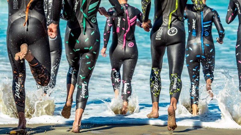 Zoot wetsuit athletes