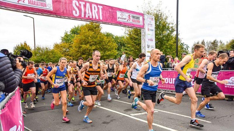 Plusnet Yorkshire Marathon - York runners