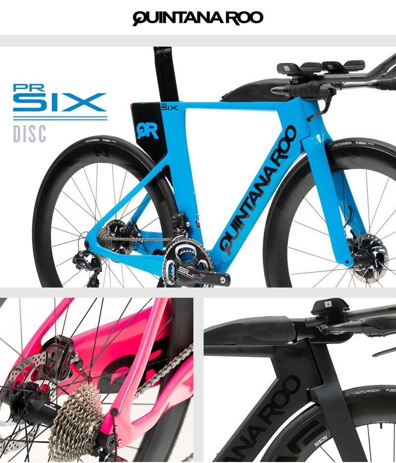 Quintana Roo PRsix Disc tri bike