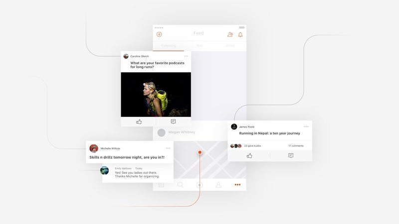 Posts and updated feed - expanding social activity on Strava 1
