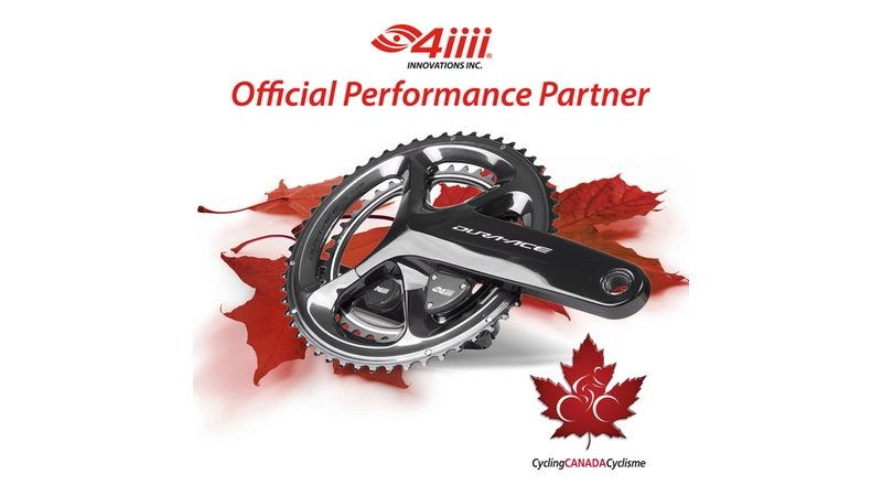 4iiii Innovations in official partnership with Cycling Canada