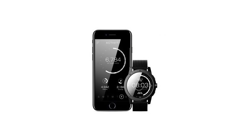 Matrix Industries PowerWatch and smart phone