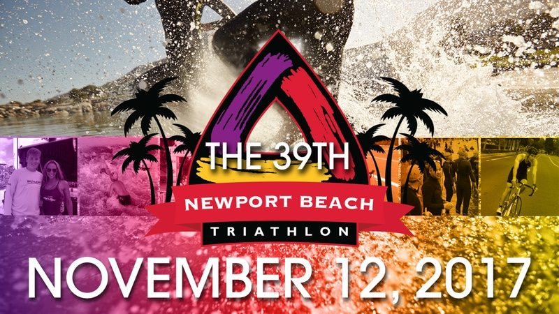 Newport Beach Triathlon 2017 banner