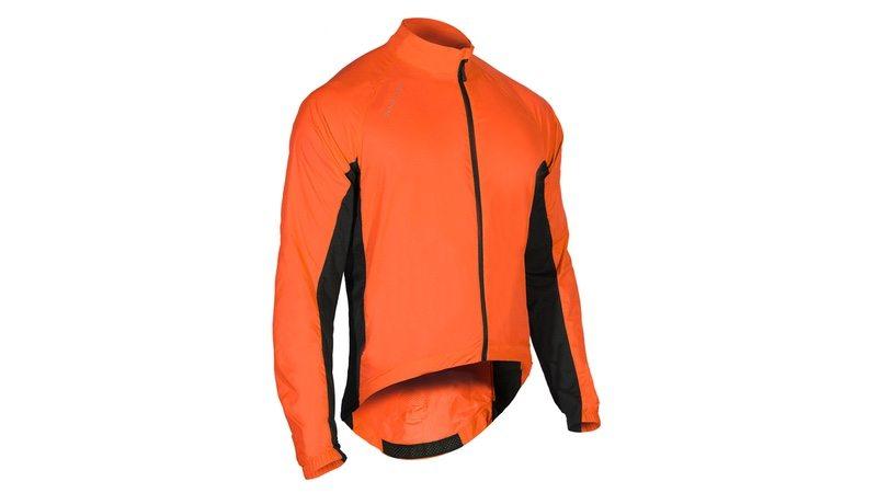 Showers Pass Men's Ultralight Wind Jacket - Red-Orange