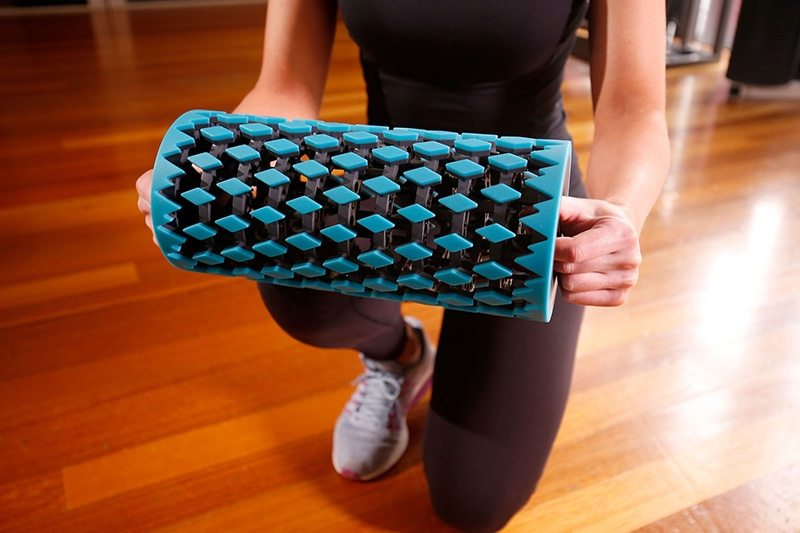 NEOFIT foam roller - photo by Darrian Traynor