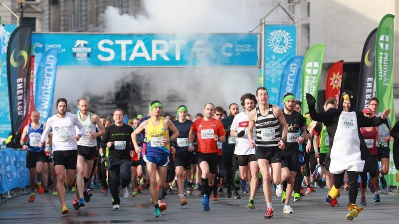 CRUK Winter Run 2017 - photo Human Race