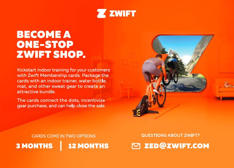 Zwift shop banner