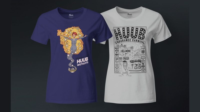 Tony DeBoom X HUUB t-shirts