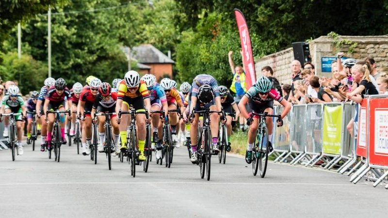 British Cycling National Junior Womens Road Championships - photo British Cycling