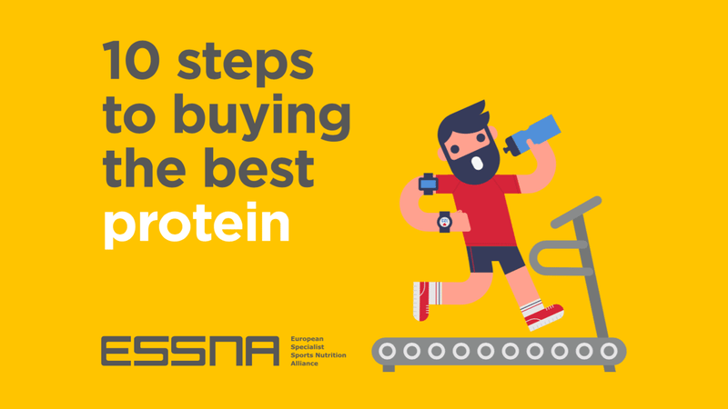 ESSNA - 10 steps to buying the best protein - sports nutrition guide