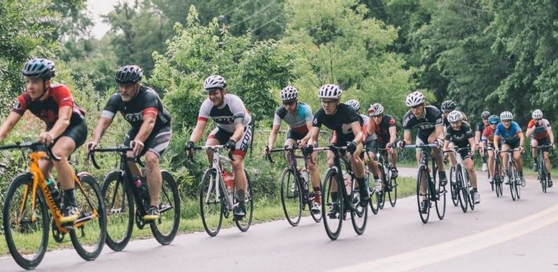 Champions Ride - riders
