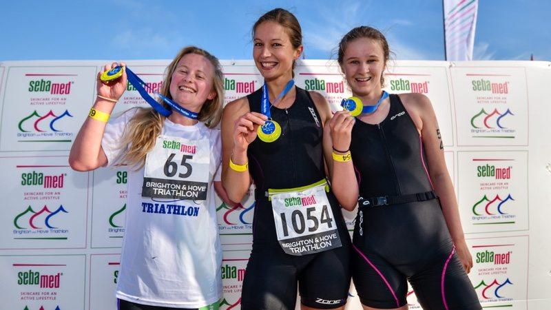 Sebamed Brighton and Hove Triathlon athletes