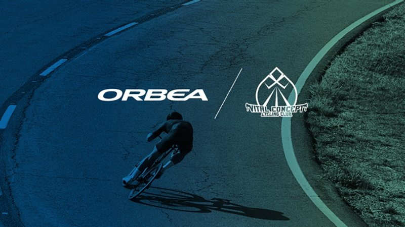 Orbea rides with Vital Concept