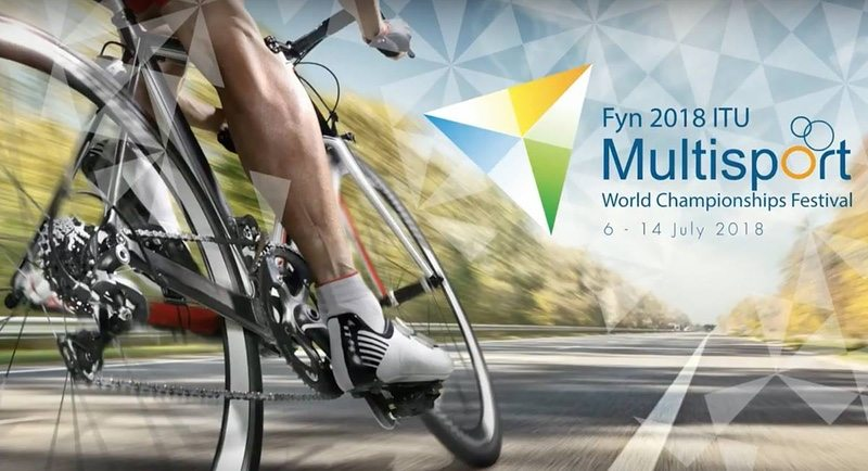 Fyn 2018 ITU Multisport World Championships logo