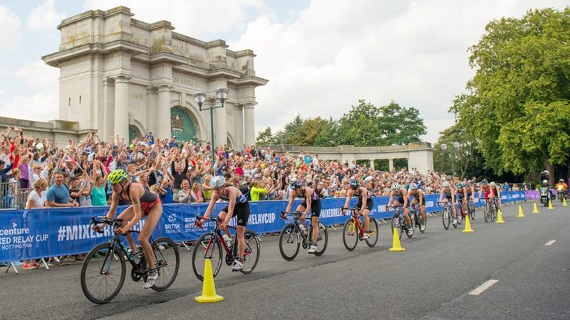 British Triathlon Mixed Relay Cup in Nottingham - photo British Triathlon