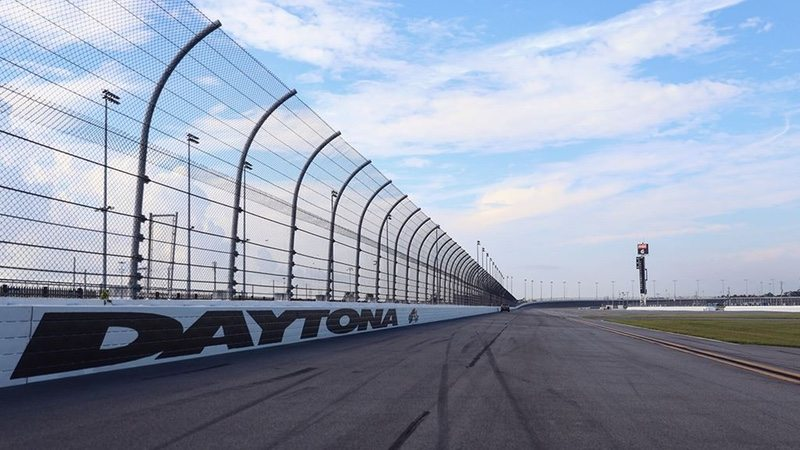 Daytona Speedway track - image credit - Daytona International