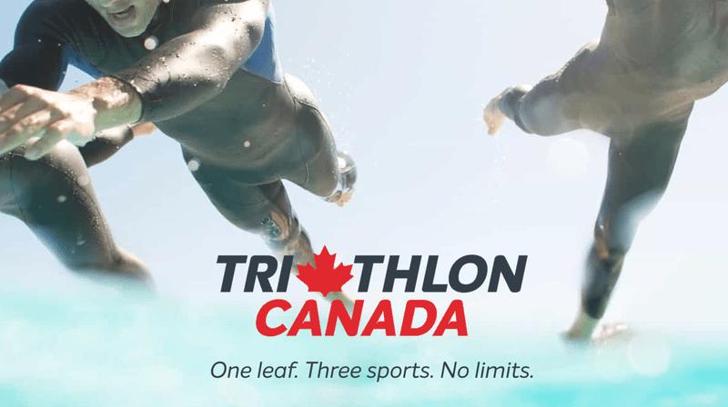 Triathlon Canada banner