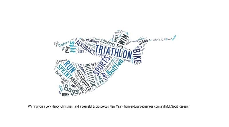 endurancebusiness.com - MultiSport Research - Christmas tag cloud