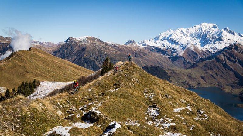 MTB in the Alps - photo XTERRA Graveman