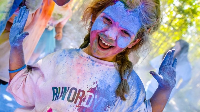 Run or Dye - young athlete