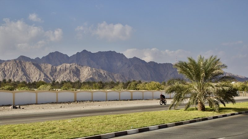 TriStar Fujairah in UAE - bike