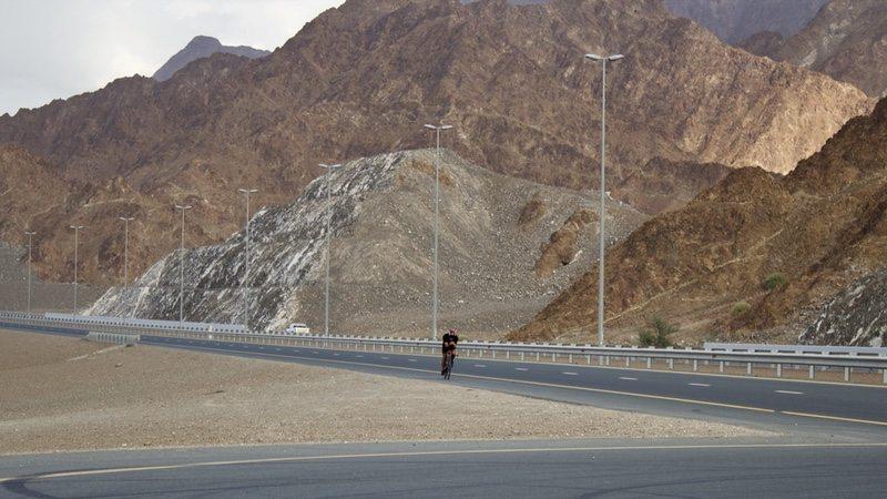 TriStar Fujairah in UAE - rider