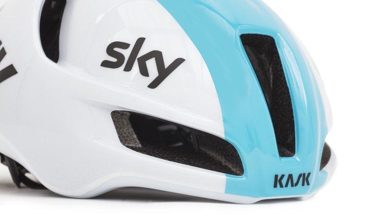 Kask Utopia Team Sky helmet. KASK has unveiled its most aerodynamic road ... ed1bbf791
