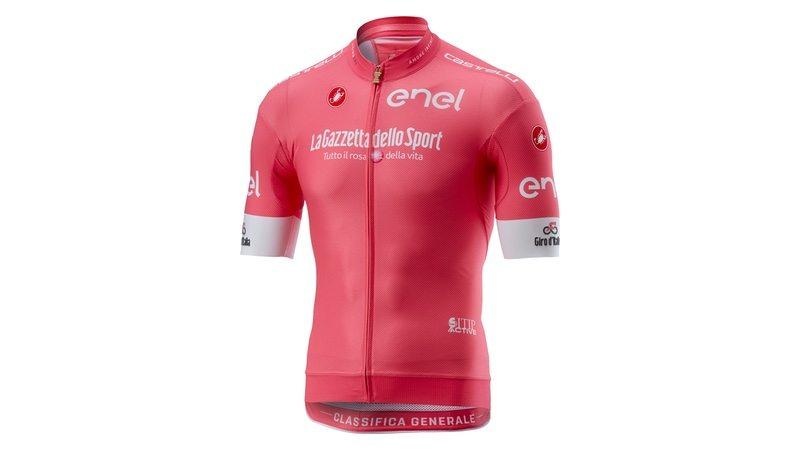 Castelli unveils 2018 Giro d Italia maglia rosa - endurancebusiness.com c2bd0644f