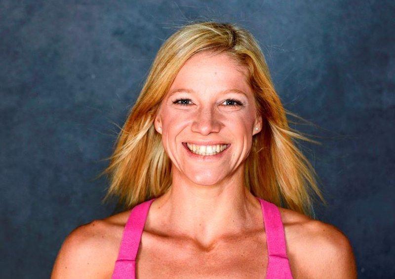German pro triathlete Anja Beranek