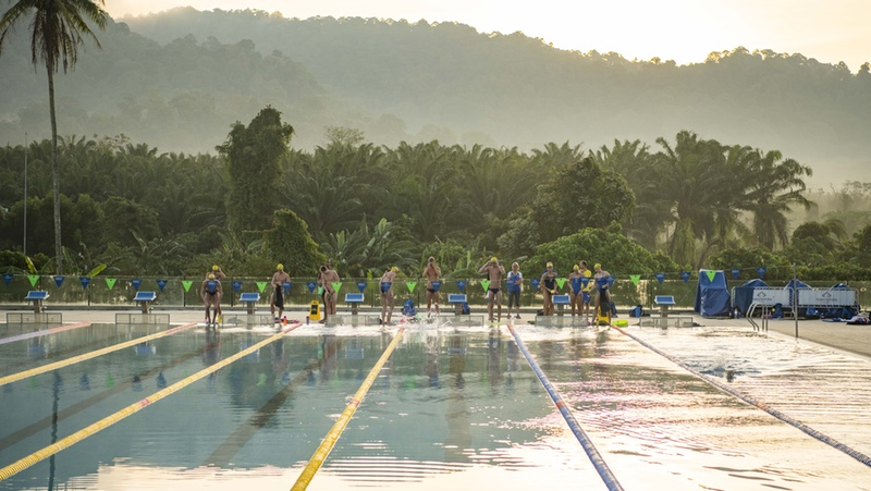 Swedish Swimming at Thanyapura in Phuket, Thailand - Photo credit - Jesper Andersson Photography