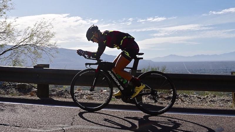 Heather Jackson rides Argon 18