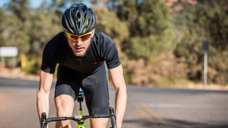 Ben Kanute rides with Rudy Project