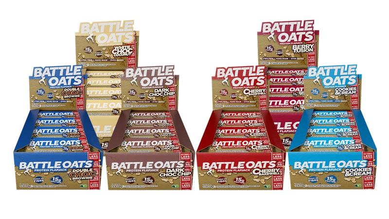 Battle Oats January 2018 reformulated high protein oat bars