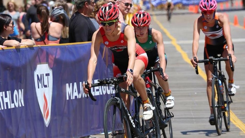 Major League Triathlon racing in Atlantic City