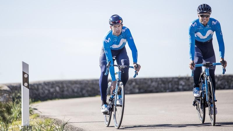 Movistar Team riders Mikel Landa_Imanol Erviti