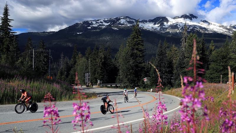 IRONMAN Canada cyclists - photo IRONMAN