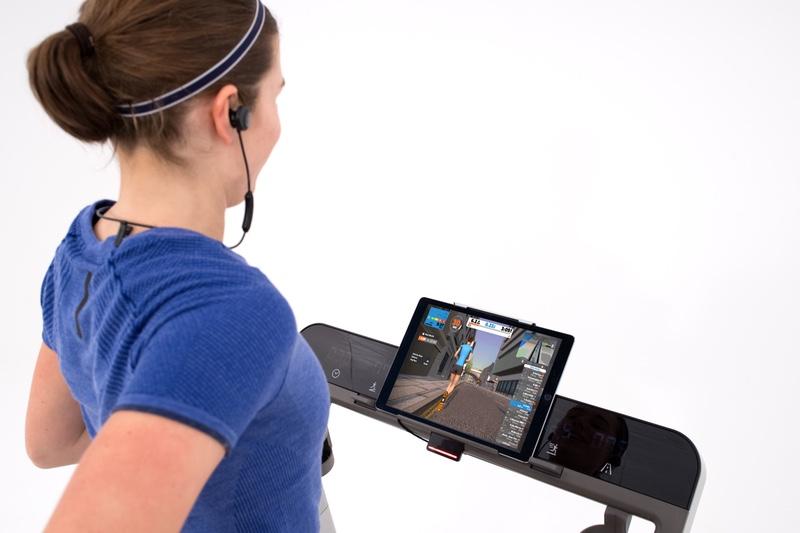 ZwiftRun on treadmill