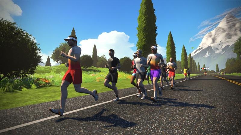 ZwiftRun - virtual runners