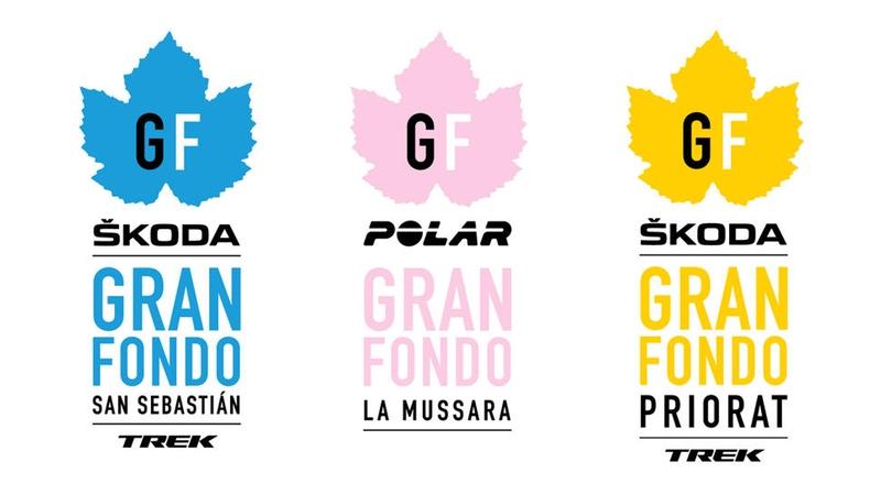 Gran Fondo Family event logos