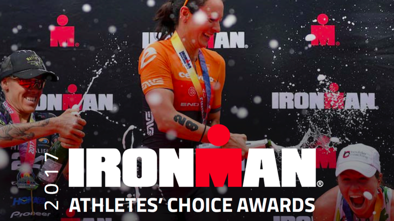IRONMAN Athletes Choice Awards banner