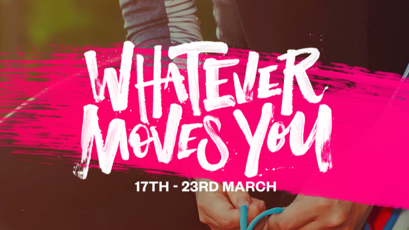 Sport Relief - Whatever Moves You banner