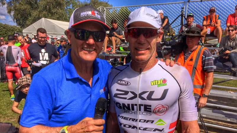 Mike Reilly and Cameron Brown at IMNZ