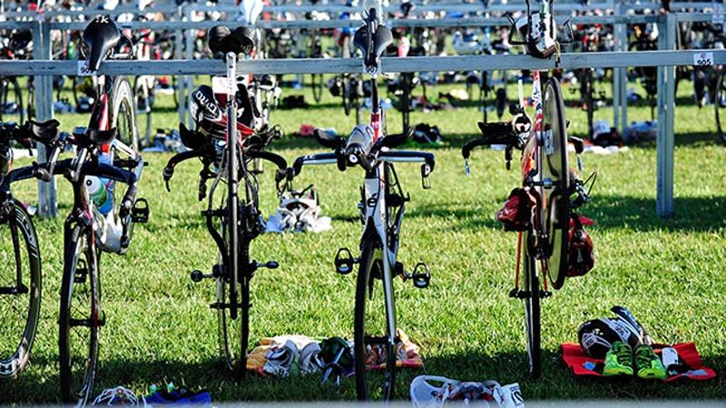 USA Triathlon - transition - photo credit Rich Cruse