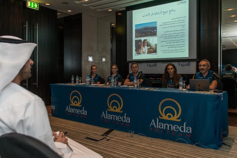 Alameda Tri Team press conference