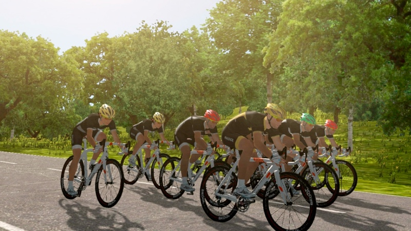 Bkool virtual riding