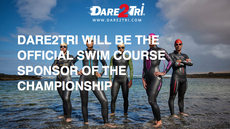 Dare2Tri becomes official swim course sponsor of The Championship