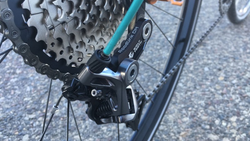 Wolf Tooth RoadLink DM for Shimano Direct Mount Road Derailleurs