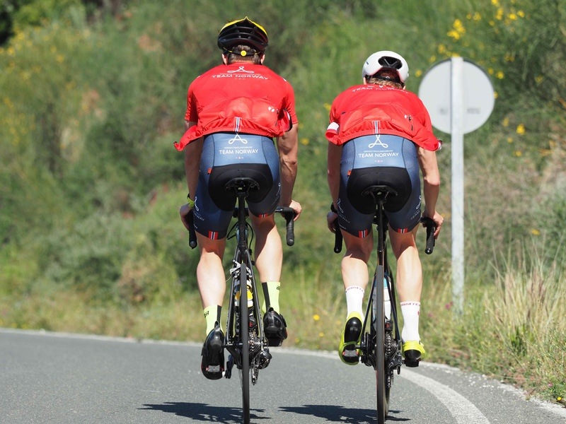 Team Norway riders with Trimtex apparel